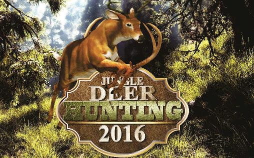 Jungle deer hunting game 2016 icono