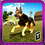 Shepherd dog simulator 3D Symbol