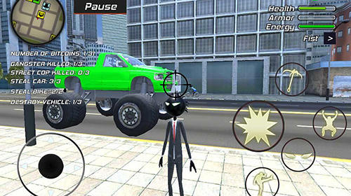 Amazing crime strange stickman: Rope vice Vegas screenshot 4