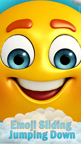 Emoji sliding: Jumping down Symbol