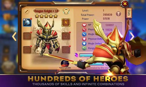 Скриншот Heroes master на андроид