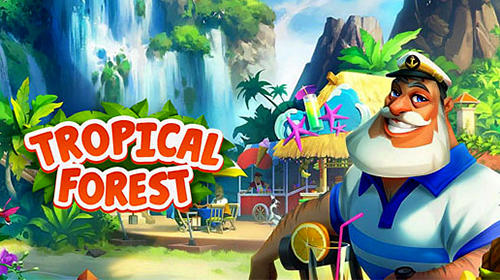 Capturas de tela de Tropical forest: Match 3 story