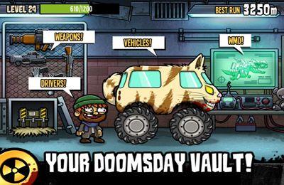 Arcade-Spiele: Lade Nuclear Outrun auf dein Handy herunter