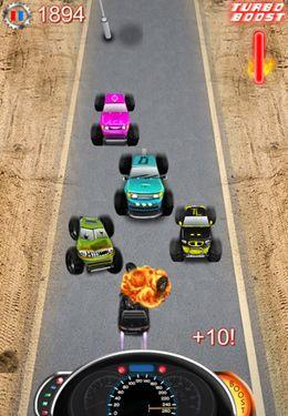 Monster Trucks gegen Polizeiautos HD - Vollversion für iPhone