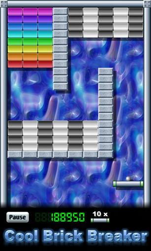 Cool brick breaker Screenshot