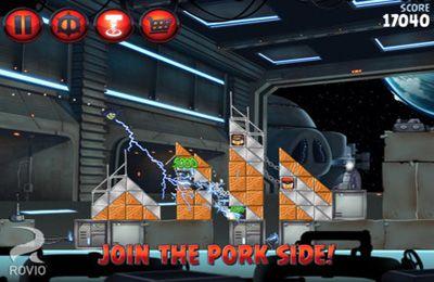 Capture d'écran Angry Birds: Guerre des Etoiles 2 sur iPhone