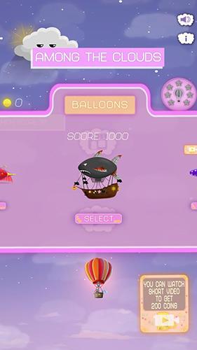 Arcade-Spiele Among the clouds für das Smartphone