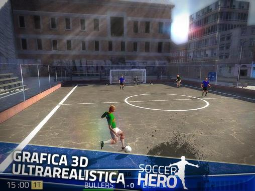 Football games Soccer hero in English