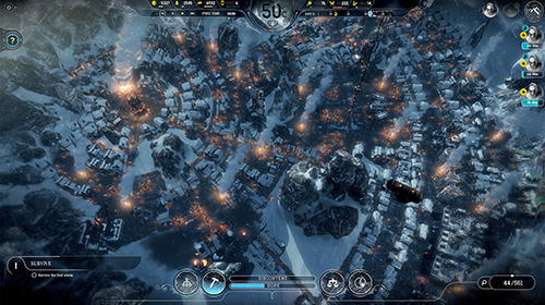 Strategy games Frostpunk for smartphone