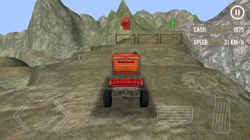 Rennspiele Monster truck driver 3D für das Smartphone