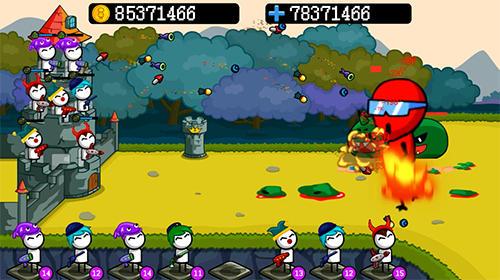 Arcade Merge archer: Tower defense for smartphone