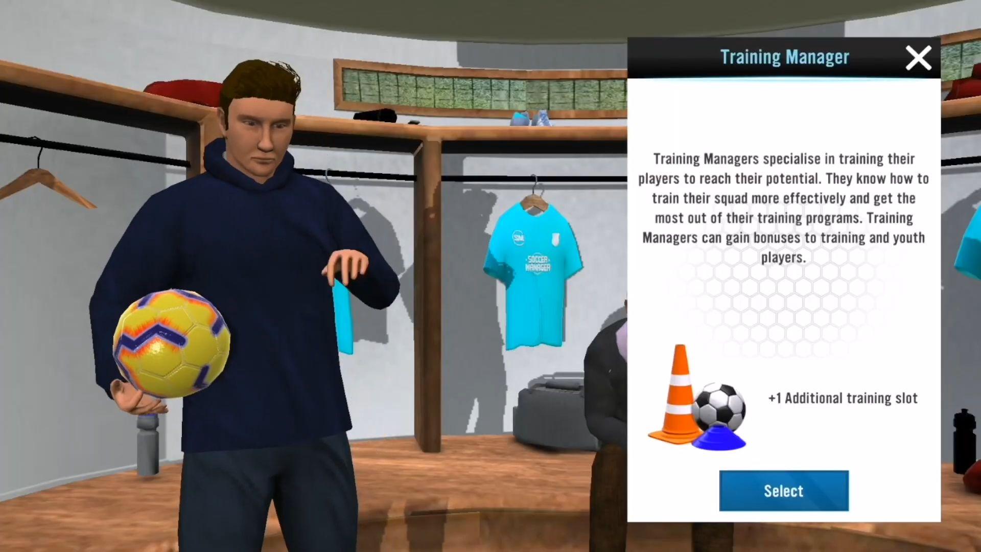 Soccer Manager 2021 capture d'écran 1