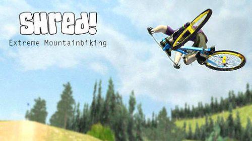 logo ¡Shred! Bicicleta de montaña extrema