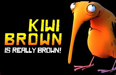logo Kiwi marrón