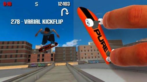 Screenshot Einfach Skate fahren auf dem iPhone
