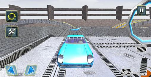 Extreme sports car stunts 3D Screenshot