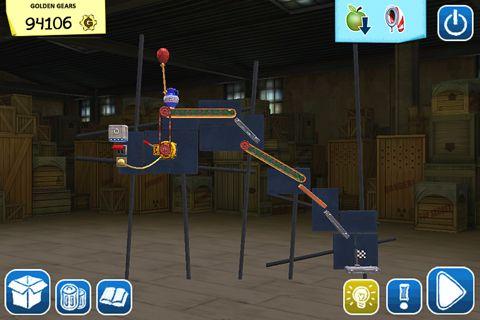 Screenshot Crazy machines: Golden gears on iPhone