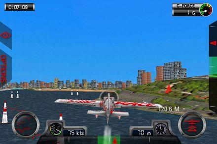 Screenshot Red Bull air race World championship on iPhone