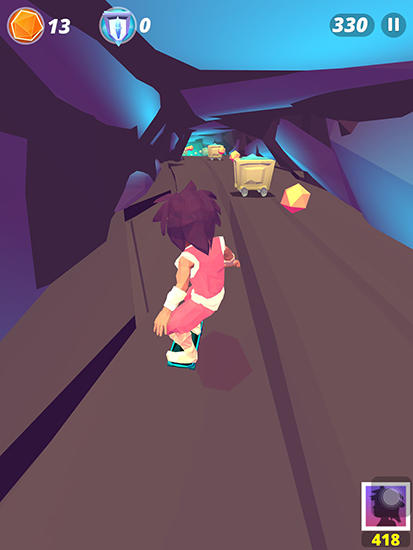 Infinite skater screenshot 3
