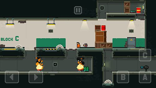 Arcade-Spiele: Lade Gefängnis: Lauf und schieße auf dein Handy herunter