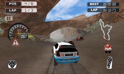 Rennspiele Furious Wheel für das Smartphone