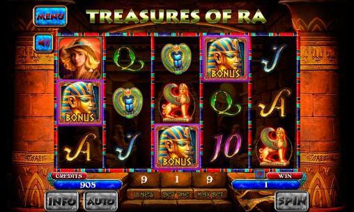 Treasures of Ra: Slot für Android