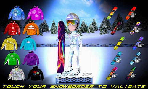 Snowboard racing ultimate für Android