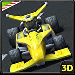 Go karts 3D icon