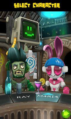 Arcade-Spiele: Lade Hophop - Fang die Aliens auf dein Handy herunter