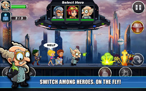 Zombie busters squad screenshot 4