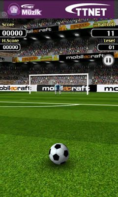 Fußball Flick Shoot auf Deutsch