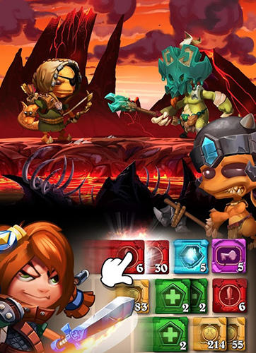 3 Gewinnt-Spiele Tiles and tales: Puzzle adventure auf Deutsch