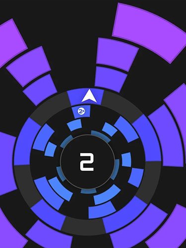 d'arcade Crazy circle pour smartphone