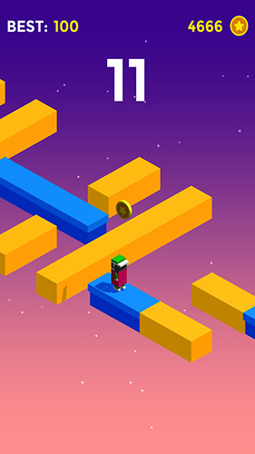 Arcade-Spiele Don't fall off the bridge! für das Smartphone
