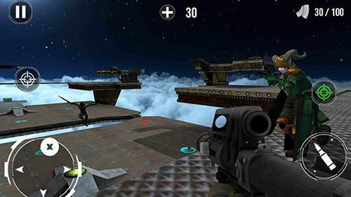 Shooter Death match battle arena auf Deutsch