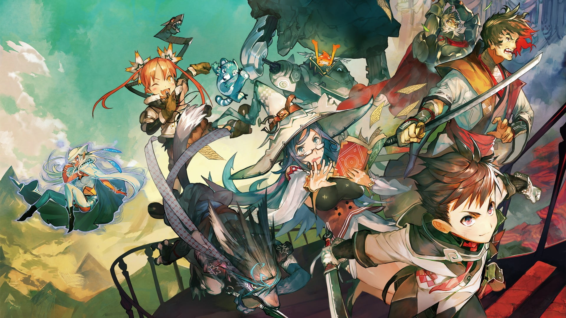 лучшие Японские РПГ игры для Android