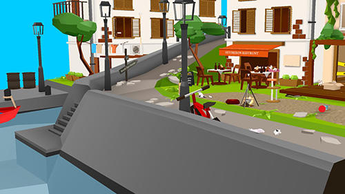 Cats and sharks: 3D game für Android
