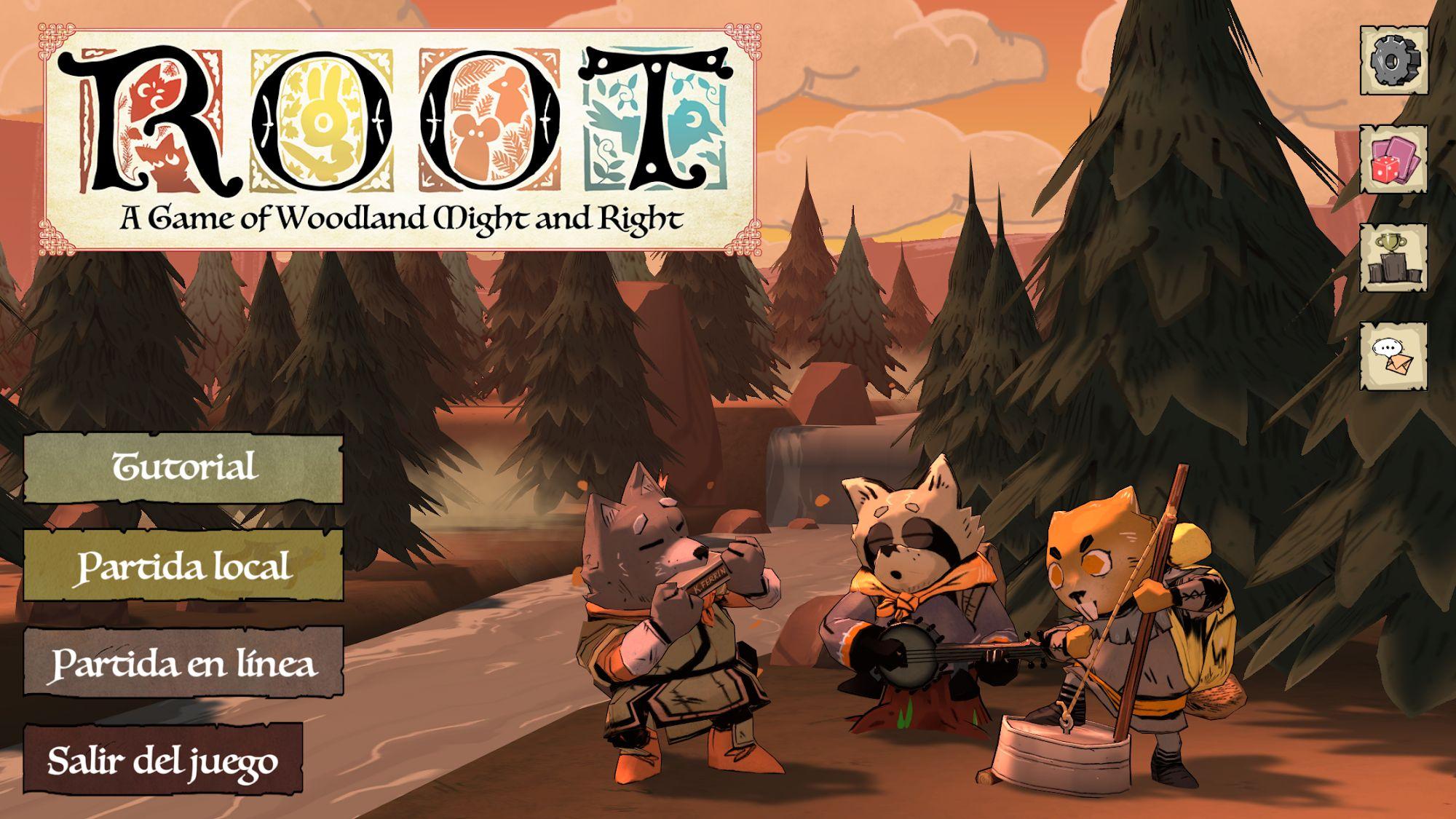 Root Board Game captura de pantalla 1