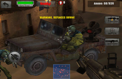 Call of the Zombie Sbombers for iPhone