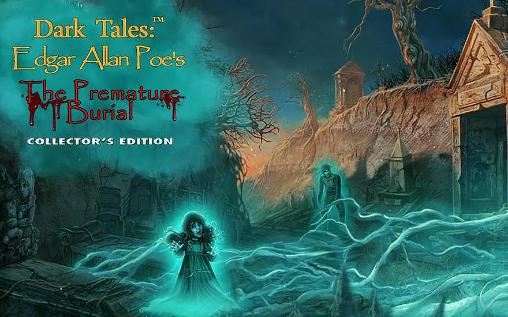 Dark tales: Edgar Allan Poe's The premature burial. Collector's edition captura de tela 1