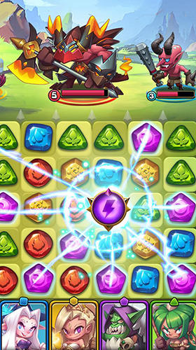 Raids and puzzles: RPG quest Screenshot-Spiel
