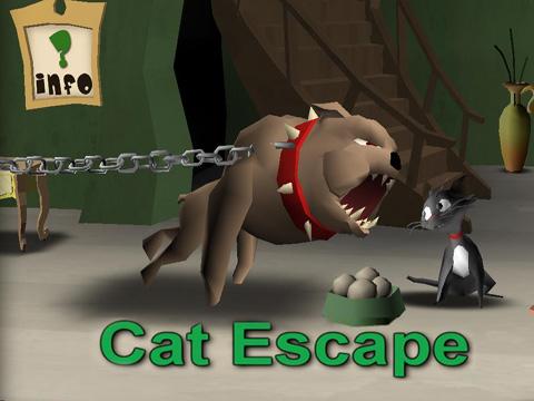 ロゴ猫の逃走