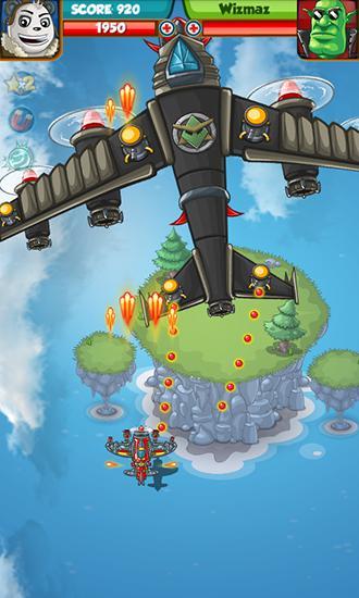 Panda commander: Air combat für Android