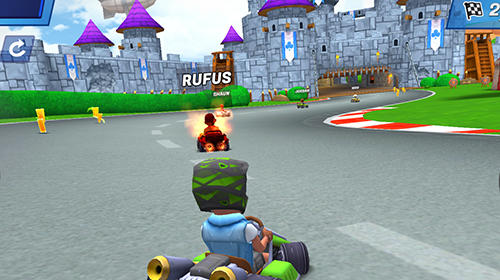 Boom karts: Multiplayer kart racing Screenshot