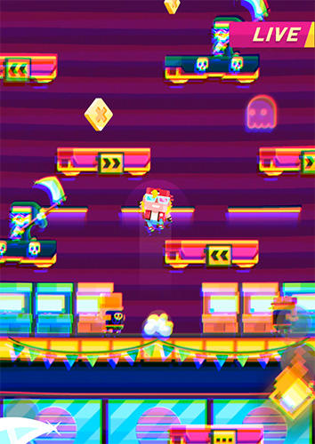 Arcade-Spiele Scaloni für das Smartphone