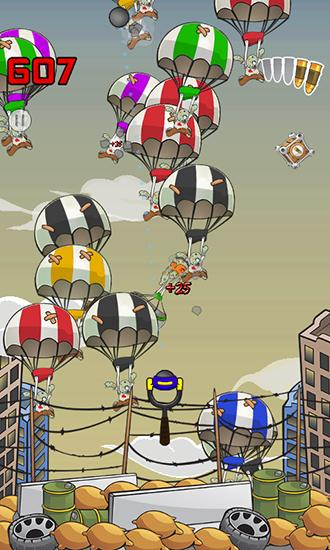 Zombie parachute für Android