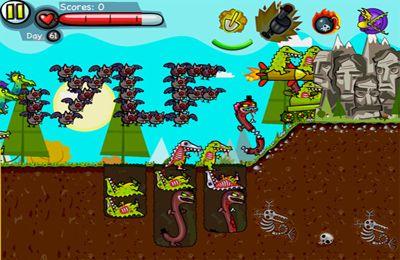 Zombie excavador para iPhone gratis