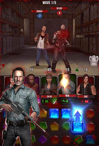 The walking dead: Evolution для Android