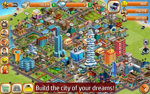 Wirtschafts-Strategie Village city: Island Sim auf Deutsch