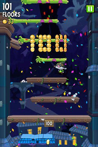 Icy Tower 2: Zombie Sprung für iPhone